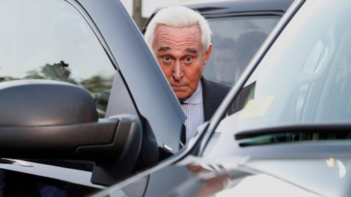 Roger Stone Interrupted on Live Radio to Be Served With Capitol Riot Lawsuit