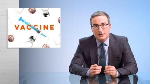 John Oliver Debunks Wacky COVID Vaccine 'Magnet' Myth