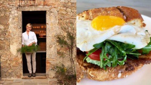 A Delicious Italian Twist on the Classic Egg Sandwich