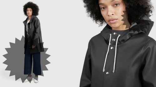 This Baxter Wood Raincoat Makes Even The Gloomiest Days More Chic