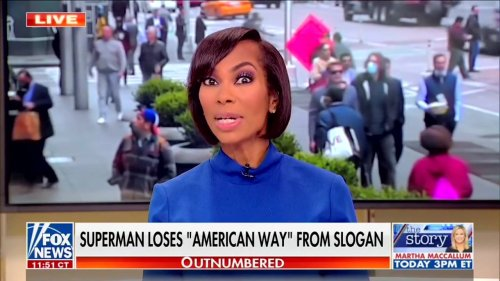 Fox News Loses It Over 'Woke' Superman Motto: They're Telling Us 'Not to Love Our Country!'