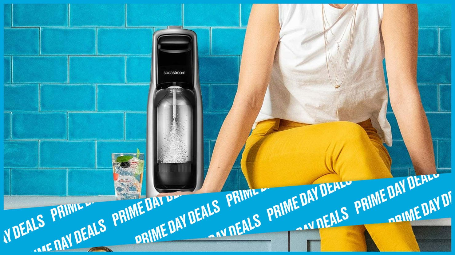 Make Your Own Seltzer with a Prime Day-Discounted SodaStream
