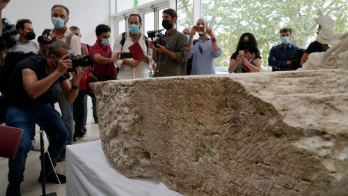 Big Stone Found in Rome Gets Everyone All Excited