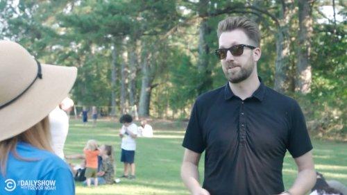 'Daily Show's' Jordan Klepper Embarrasses Anti-Mask Parents