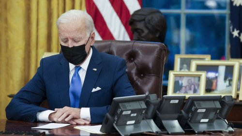 Biden Keeps Trump's Record-Low Cap On Refugee Admissions