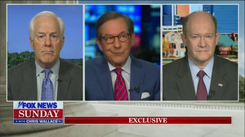 Chris Wallace Confronts GOP Senator for Questioning Biden's Mental Fitness