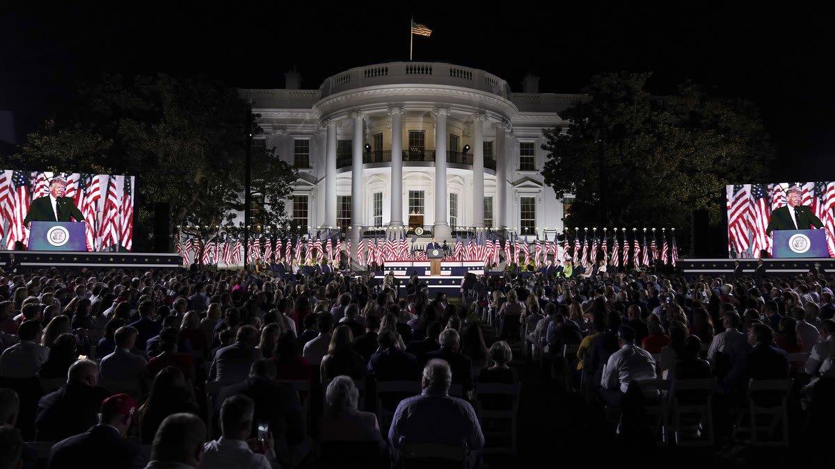 A Sick President Scrambles to Spread His Contagion of Fear