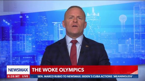 Newsmax Host: 'I Took Pleasure' in Rooting Against Team USA