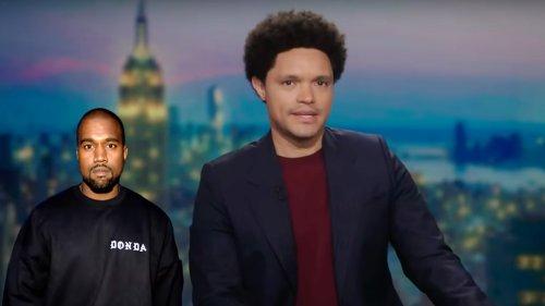 'Daily Show's' Trevor Noah Brutally Mocks Kanye West's Name Change