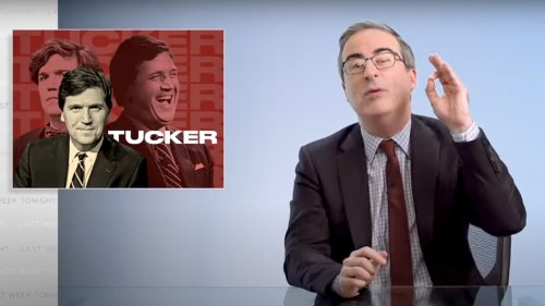 John Oliver Breaks Down Why Tucker Carlson Is a White Supremacist