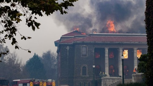 'Out of Control' Cape Town Fire Destroys Historic University Library, Students Evacuated