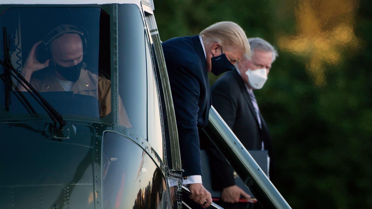 Trump World Riddled with Coronavirus