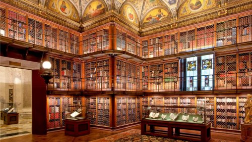 NYC's Robber Baron Library Has a Flair for the Dramatic