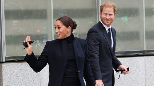 Harry and Meghan Make First Joint Public Appearance Since Quitting Royal Family
