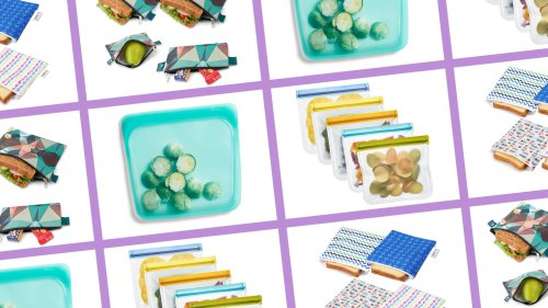 Ditch The Plastic And Stock Up on These Reusable Sandwich Bags Instead