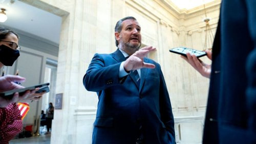 Sen. Ted Cruz Won't Wear a Mask on the Senate Floor Anymore