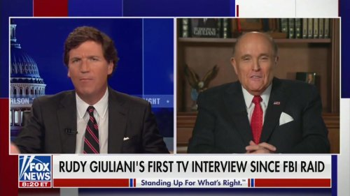 Giuliani Rants About East Berlin and the iCloud in Bonkers Fox Interview