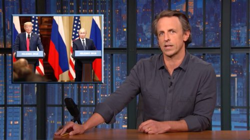 Seth Meyers Exposes Fox News' Outrageous Hypocrisy on Putin Summit