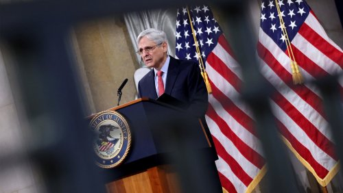 Liberals Need To Stop Whining About Merrick Garland Defending Trump