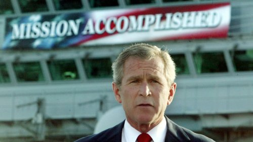 It's Time for George W. Bush to Stand Down and Shut Up