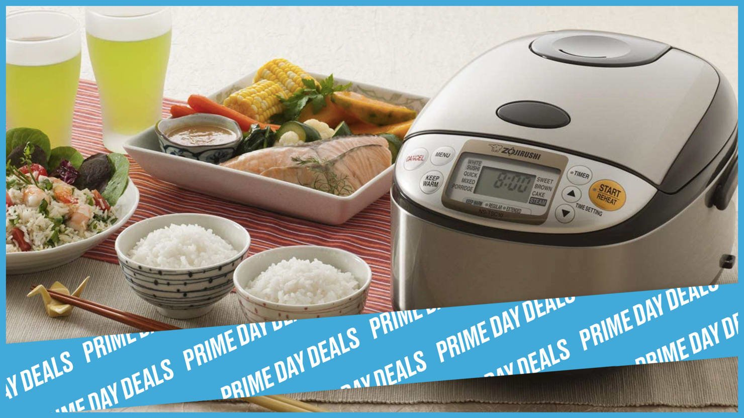 This Kitchen Game-Changing Rice Cooker Is on Sale for Prime Day