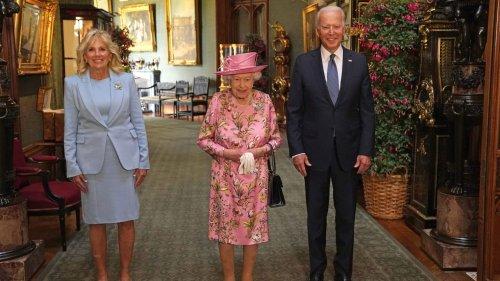 Queen Elizabeth Greets Joe Biden and Dr. Jill Biden in Stunning Style at Windsor Castle