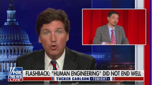Tucker Carlson Sincerely Asks, 'Why Do We Laugh at Alex Jones Again?'