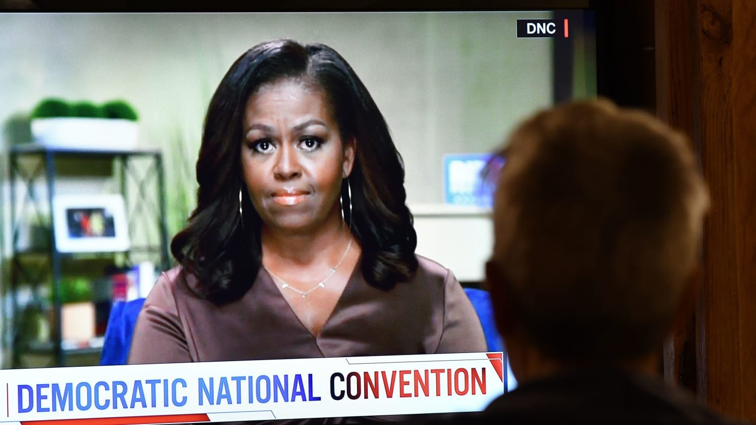 Michelle's New Stance: When They Go Low, We Square Up
