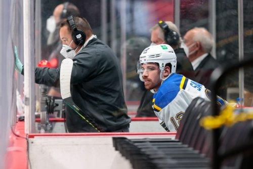 NHL Trade Alert: Senators acquire forward Zach Sanford from Blues for Logan Brown and pick