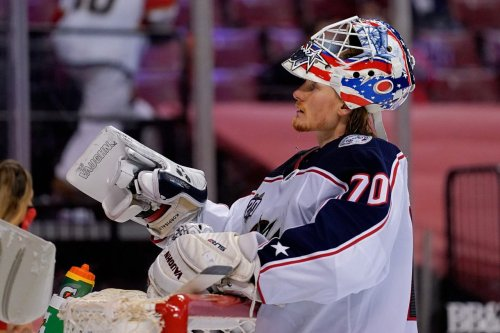 Blue Jackets sign goalie Cam Johnson in order to protect Joonas Korpisalo