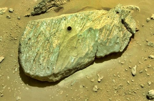First Rocks Sampled by Mars Perseverance Rover Dramatically Improve Chances for Life