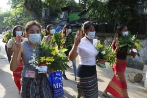 In Place of New Year Festivities, Myanmar Protesters Mark the Fallen