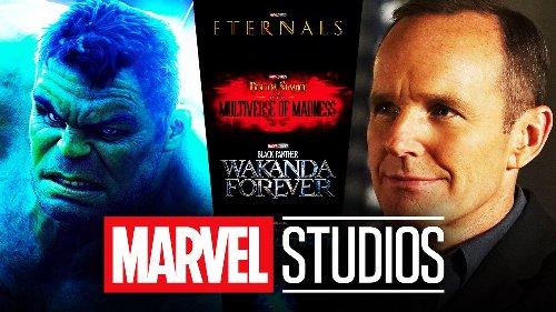 Mark Ruffalo, Clark Gregg & More MCU Actors React To Marvel's Mega Movie Trailer