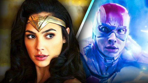 The Flash: Set Photo Reveals Gal Gadot's Wonder Woman on Central City Bus