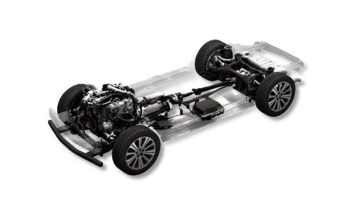 This Is Mazda's New Straight-Six, RWD Platform