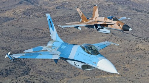 Surplus F-16 Vipers Eyed To Replace Navy Aggressor Squadron's Legacy F/A-18 Hornets