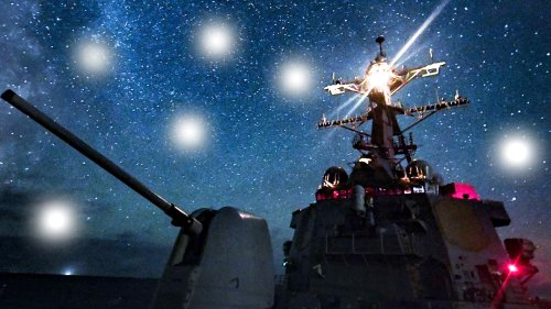 Multiple Destroyers Were Swarmed By Mysterious 'Drones' Off California Over Numerous Nights