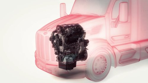 This 10.6L, Three-Cylinder Diesel Truck Engine Beats Emission Targets, Could Run On Hydrogen