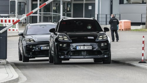 Porsche Is Road-Testing an Electric Macan, Promises More Range Than the Taycan