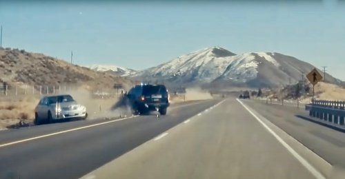 Watch an Oregon State Trooper Risk His Life to Take Out a Wrong-Way Camry Driver