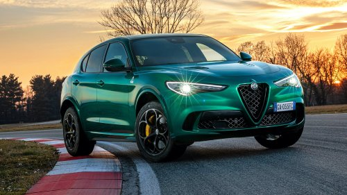 Alfa Romeo CEO Wants 'as Few Screens as Possible' in Its Cars