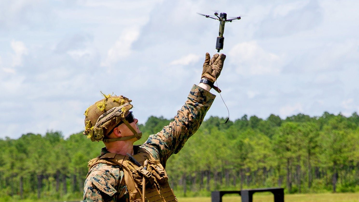 Marines Train With Handheld Swarming Drones That Can Also Be Fired From 40mm Grenade Launchers