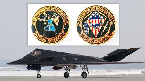 Challenge Coin Emerges For Secretive Unit That Still Flies The F-117 Nighthawk