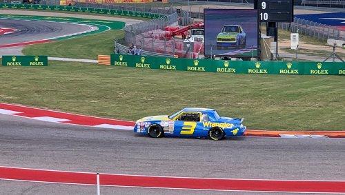 Watch Daniel Ricciardo Drive Dale Earnhardt Sr.'s Vintage NASCAR