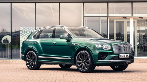 At Least the Bentley Bentayga's New 22-Inch Carbon Fiber Wheels Are Light