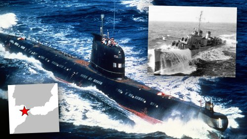 The Hunt For A Soviet Submarine Desperately Trying To Sneak Through The Strait Of Gibraltar