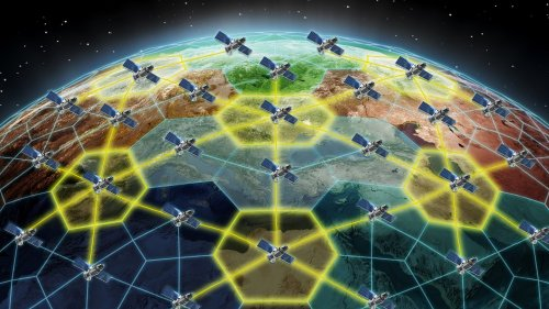 DARPA Wants Cheap Laser Communications Terminals To Allow Any Satellite To Talk To Another