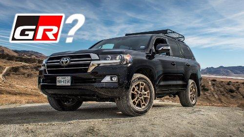 Next-Gen Toyota Land Cruiser Will Get a Gazoo Racing Off-Road Version: Report