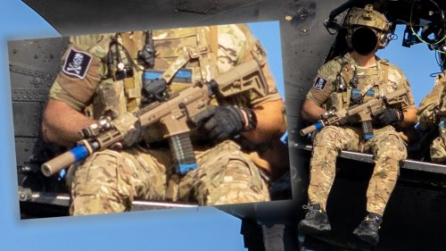 About Those Custom Rifles Navy SEALs Were Seen Carrying On A Recent Training Mission