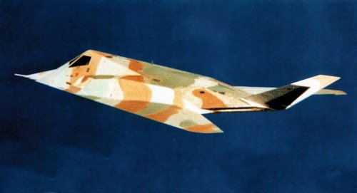 Why The F-117 Made Its First Flight In Pastel Camouflage 40 Years Ago Today